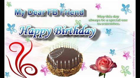 images for facebook the happy birthday happy birthday friend cards for facebook happyeasterfrom com
