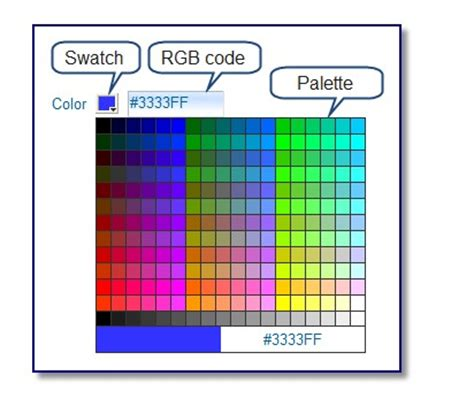 use the color picker