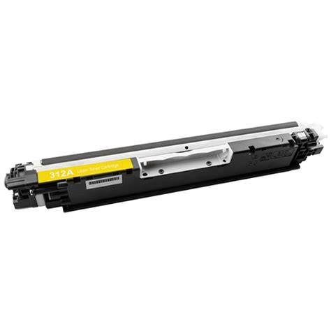 Toner Hp 126a Yellow compatible 126a yellow toner cartridge ce312a inkdepot