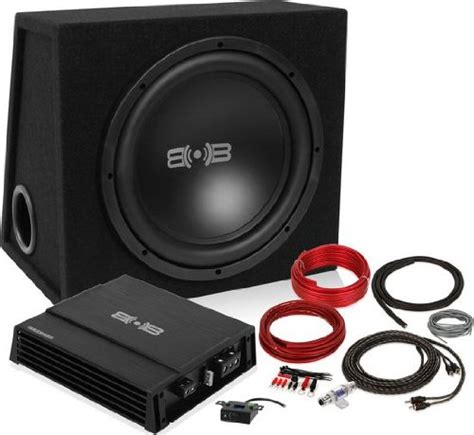 Supplier Belva By belva bpkg112 600w complete bass package with 12 quot sub in