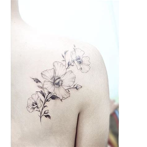 rose of sharon tattoo ideas ideas