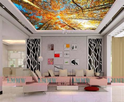 beautiful wallpaper for living room 27 ceiling wallpaper design and ideas inspirationseek