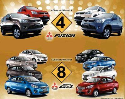 mitsubishi fuzion 2014 win a mitsubishi fuzion or mirage g4 from landmark my