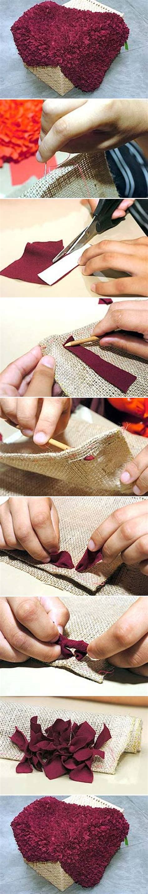 how to make a rug from fabric 3 easy tutorials will teach you how to make a rug at home