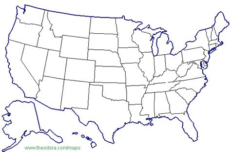 color united states map color in map of us