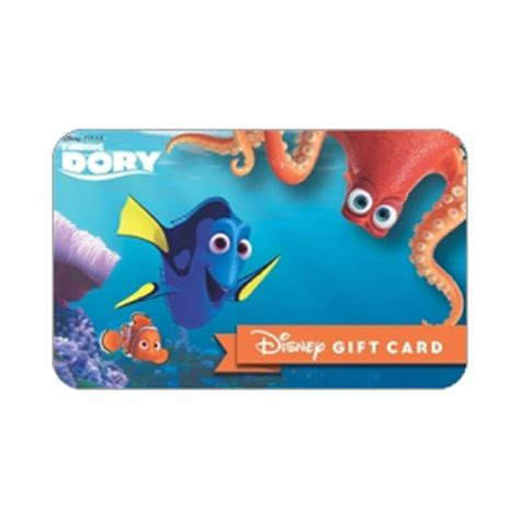 Disneyland Gift Card Balance - your wdw store disney collectible gift card finding dory