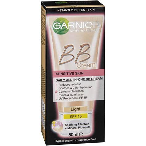 garnier bb light garnier bb sensitive light 50ml woolworths