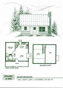 Small Cabins Floor Plans by Log Home Package Kits Log Cabin Kits Silver Mountain