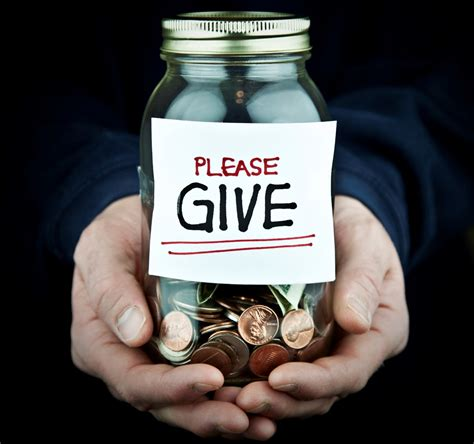 do you give to charity who gets your money what s your