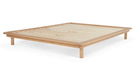 Pine Platform Bed Frame Made Essentials Kano Kingsize Platform Bed Pine Made
