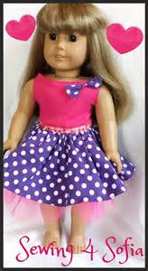 doll clothes pattern tutorial super sweet dress for american doll free pattern and