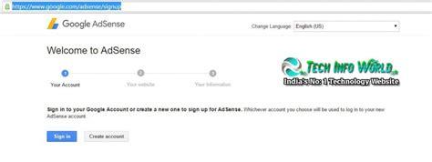 adsense login google how to create google adsense account for website