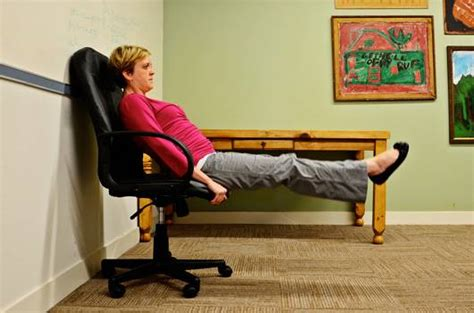 couch crunches 5 chair exercises you can do in the office mnn mother