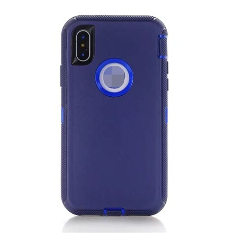 iphone xs max otterbox commuter navy blue 1693 mobilize phone