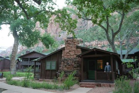 Cabins In Zion National Park by Zion Lodge Cabin Picture Of Zion Lodge Zion National Park Tripadvisor