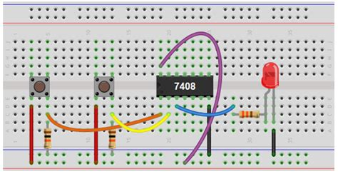 pull resistor breadboard how to connect a pull resistor