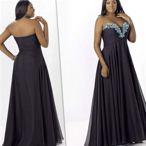 the best plus sized evening gowns best evening dresses for plus size pluslook eu collection