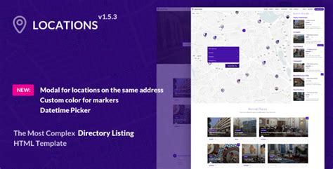 themeforest locations directory listing template locations by themestarz