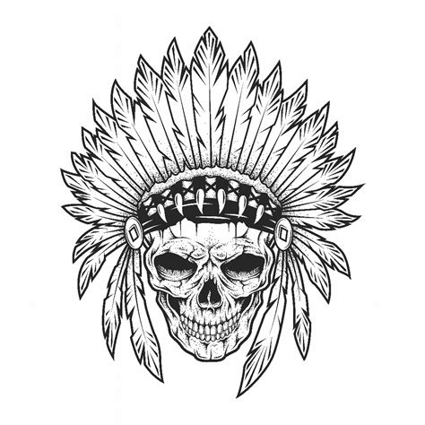 temporary tattoos by easytatt skull and feathers