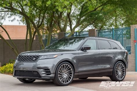 wheels land rover 2018 2018 land rover range rover velar with 22 quot lexani wraith