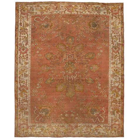 Antique Area Rug Antique Turkish Oushak Area Rug For Sale At 1stdibs