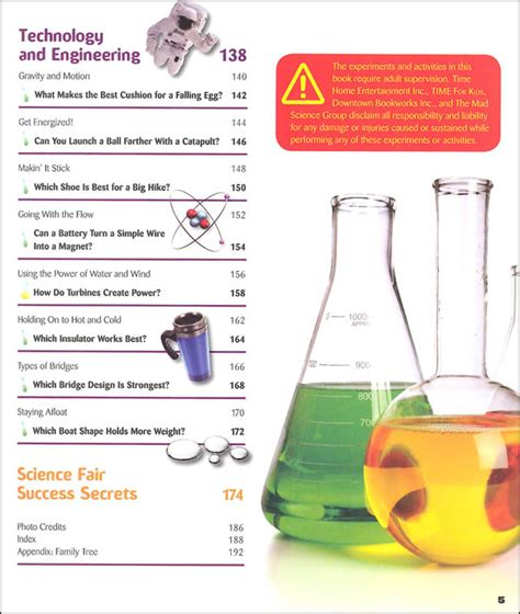 big book of science projects sastobook time for kids big book of science experiments 069885