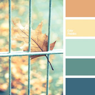 blue green color palette ideas