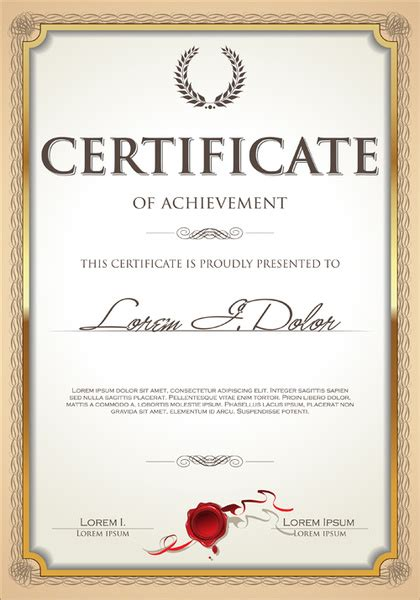 certificate design cdr format free download certificate frame vector free vector download 6 268 free