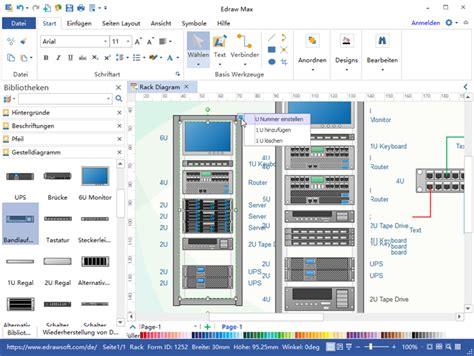 rack diagram software gestelldiagramm software