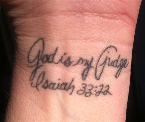 scripture wrist tattoos wrist scripture verse isaiah 33 22 ink