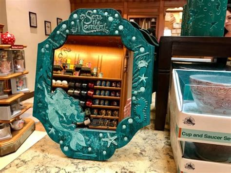 mermaid home goods and decor at disneyland