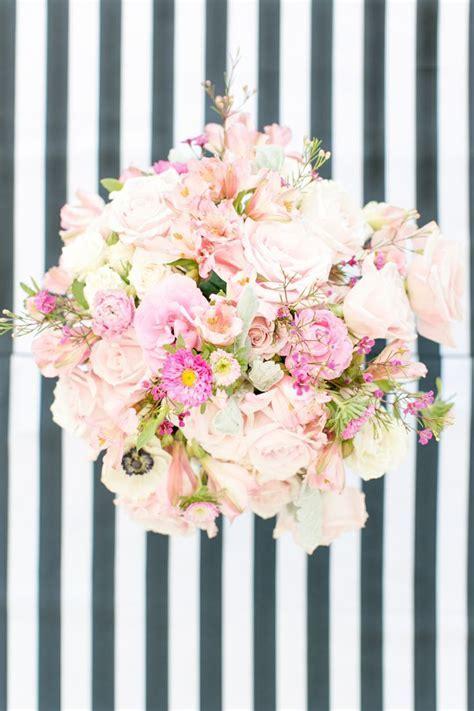 Raspberry   Striped Wedding Inspiration   Flower