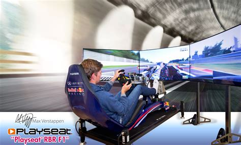 Racing Simulator Chair Hydraulic Max Verstappen Visits Playseat 174 Headquarters Playseathq