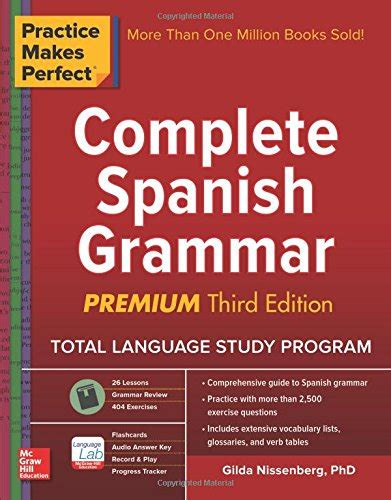 practising spanish grammar volume practice makes perfect complete spanish