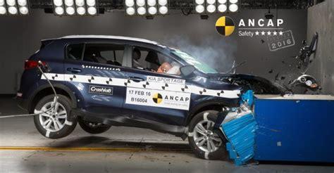 Kia Crash Test Ratings Kia Sportage Jaguar Xf Holden Spark And Skoda Superb All
