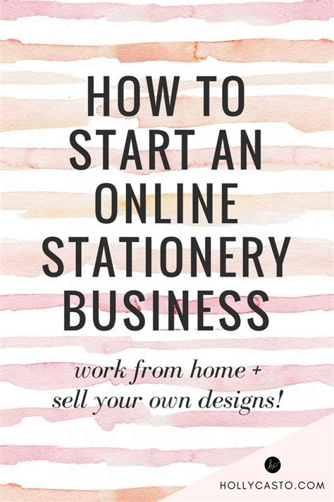 how to start home design business how to start a stationery business selling your own designs stationery business business and