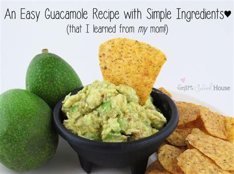 Lifestylefood A Delicous Guacamole Recipe by Easy Recipe For Guacamole Smart School House