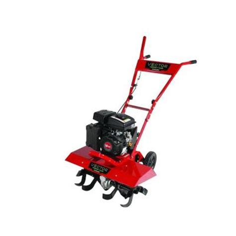 earthquake 99 cc vector compact tiller 26750 the home depot