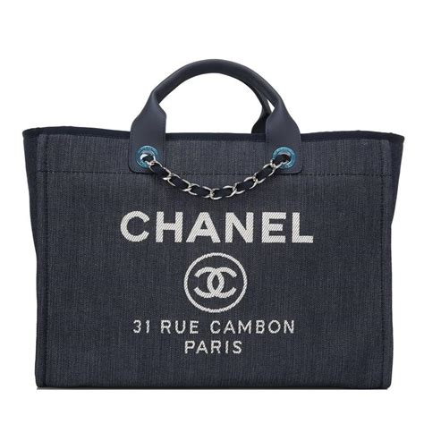 Chanel Deauville Shopping Tote Bags 972 chanel blue denim large deauville shopping tote bag