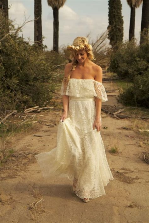 Hippie Wedding Dresses by Hippie Wedding Dresses Dressed Up