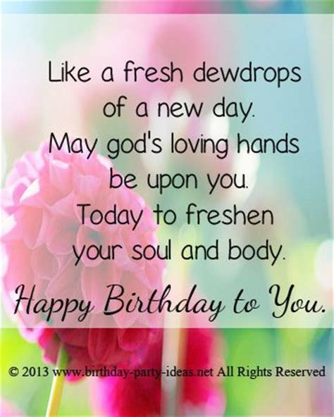 like a fresh dewdrops of a new day may god s loving hands
