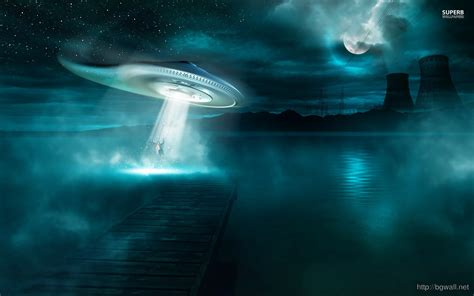 ufo background abduction wallpaper background wallpaper hd