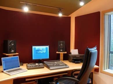 Home Studio Acoustics Design Acoustic Treatment For Small Studios Audiofanzine