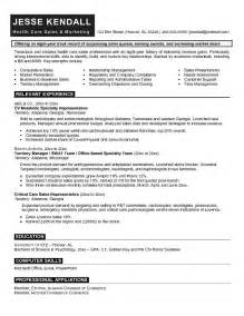 sales and marketing resume resume format