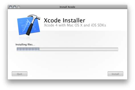 format date xcode installing xcode 4 from the app store malcontent comics