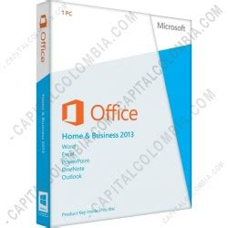 Microsoft Office Home And Business 2013 En Us by Capital Colombia Licencia De Microsoft Office Home And
