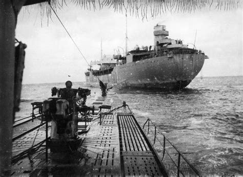 did german u boats refuel in ireland u 183 approaches the german supply ship brake in order