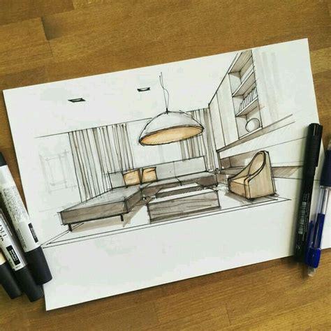 pin  mona  pics interior design sketches interior