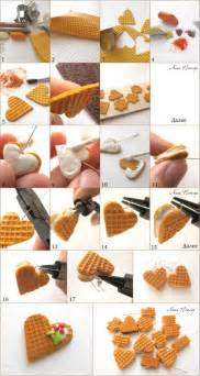 Jewelry Making Instructions - tuto fimo gaufrage et biscuits gaufr 233 s