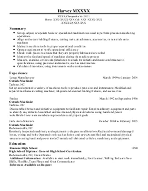 Aircraft Sheet Metal Mechanic Sle Resume by Aircraft Sheet Metal Mechanic Resum